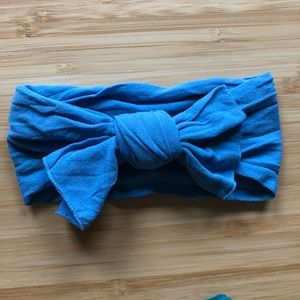 Other - Baby Bling Bow Denim Blue